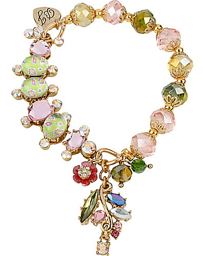 SPRING GLAM CATERPILLAR STRETCH BRACELET MULTI