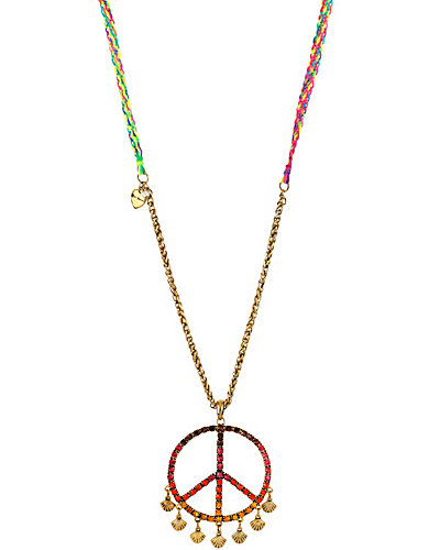 ST BARTS PEACE NECKLACE MULTI