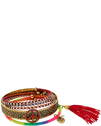 ST BARTS SET OF 5 BRACELETS MULTI
