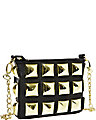 STUD MUFFIN CROSSBODY BLACK