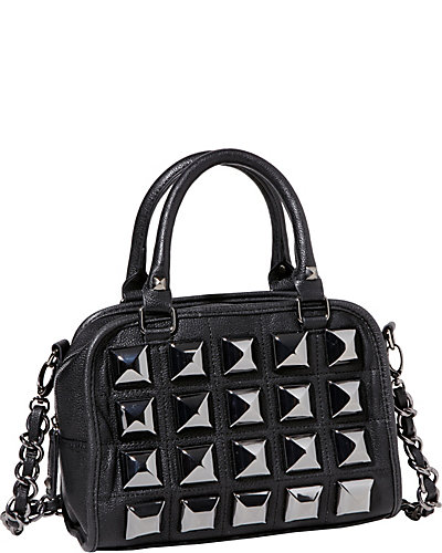 STUDIO 54 MINI SATCHEL BLACK