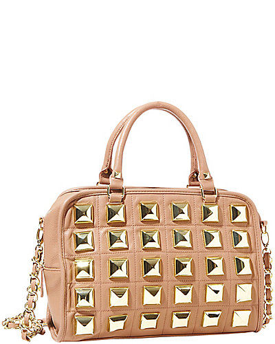 STUDIO 54 SATCHEL TAN
