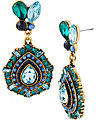SUMMER BLAST BLUE DROP EARRING BLUE
