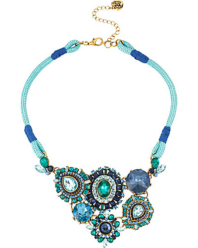 SUMMER BLAST BLUE NECKLACE BLUE