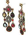 SUMMER BLAST CHANDELIER EARRING MULTI