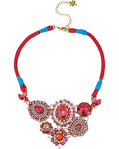 SUMMER BLAST PINK NECKLACE PINK