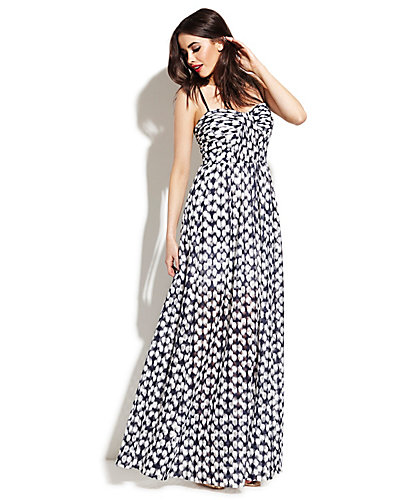 SWEETHEART MAXI DRESS NAVY