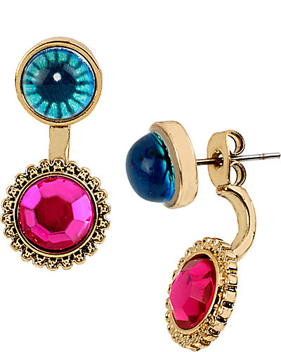 THE EYES HAVE IT STONE DROP EARRING MULTI