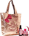 TOO TOO PRETTY SKULL TOTE GIFT SET ROSE GOLD