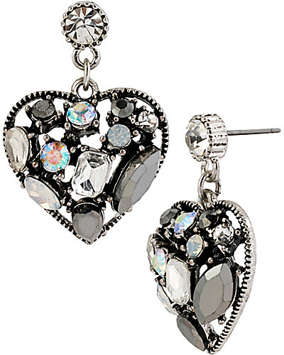 TORSADE ENHANCERS CRYSTAL HEART DROP CRYSTAL