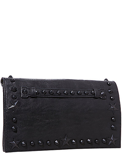 TOTALLY TONAL CLUTCH BLACK