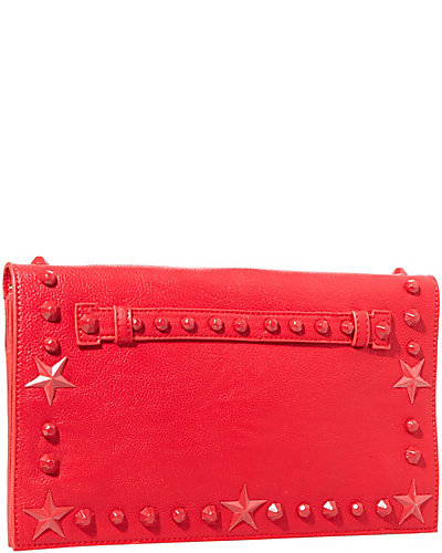 TOTALLY TONAL CLUTCH RED