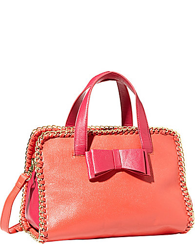 TOUGH LOVE LARGE SATCHEL PINK MULTI