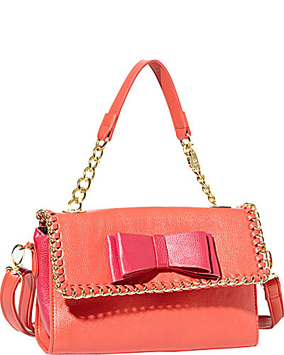 TOUGH LOVE MINI SATCHEL PINK MULTI