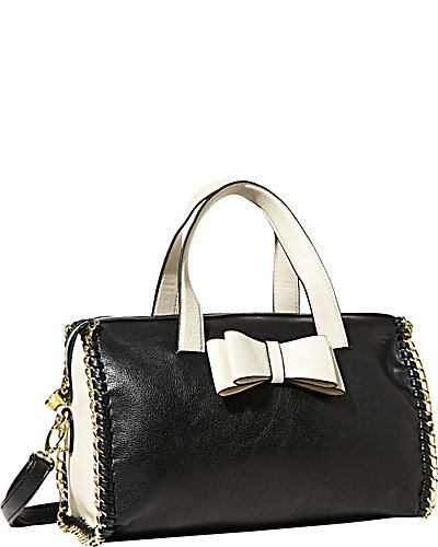 TOUGH LOVE SATCHEL BLACK BONE