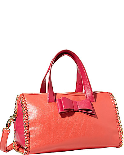 TOUGH LOVE SATCHEL PINK MULTI
