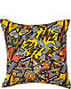 VA VA VOOM DIGITAL PRINT PILLOW ORANGE