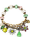 VINTAGE CRITTERS BUG STRETCH BRACELET MULTI