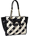 WEAVE ON TOTE BLACK