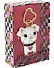 WHITE DOG KEYCHAIN WHITE