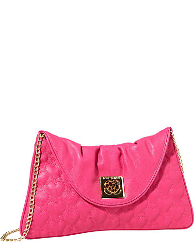 WILL YOU BE MINE CLUTCH PINK
