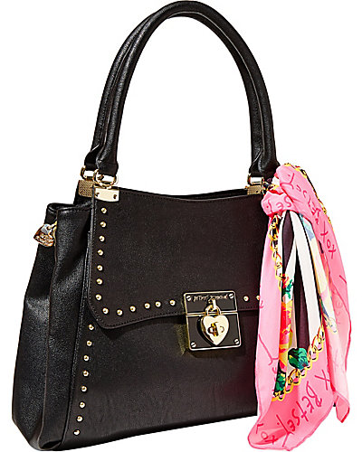 WRAP PARTY SATCHEL BLACK