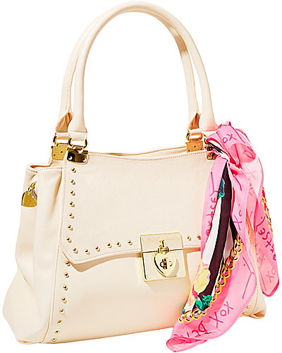 WRAP PARTY SATCHEL CREAM