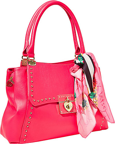 WRAP PARTY SATCHEL FUCHSIA