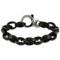 Blackened_Stainless_Steel_Thorn_Link_Bracelet