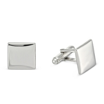 Sterling_Silver_Square_Cufflinks