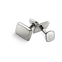 M-Clip_Tapered_Rectangle_Brushed_Stainless_Cufflinks