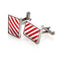 M-Clip Stripes Cufflinks