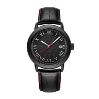 88_Rue_Du_Rhone_Black_Tone_Stainless_Steel_Automatic_Strap_Watch,_39mm