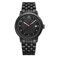 88_Rue_Du_Rhone_Black_Tone_Stainless_Steel_Watch,_42mm