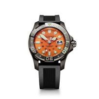 Swiss_Army_Dive_Master_500_Strap_Watch,_Orange_Dial