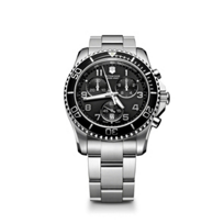 Swiss_Army_Maverick_GS_Chronograph_Bracelet_Watch,_Black_Dial