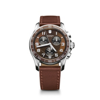 Swiss_Army_Chrono_Classic_Leather_Strap_Watch,_Brown_Dial