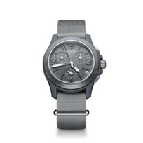 Swiss_Army_Original_Chronograph_Strap_Watch,_Gray_Dial