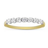 18K_Yellow_Gold_Prong_Set_Diamond_Band,_0.35cttw