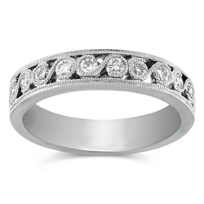 14K_White_Gold_Round_Diamond_Band,_0.35_cttw