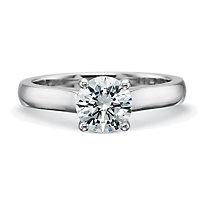 Platinum Diamond Engagement Setting