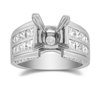 14K_Channel_Set_Diamond_Mounting