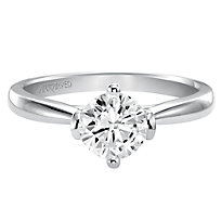 14K Diamond Ring Setting