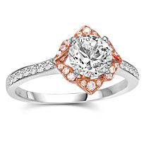 18K Diamond Ring Setting