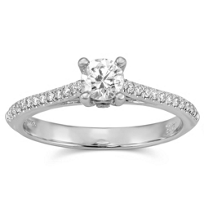 14K_White_Gold_Round_Diamond_Engagement_Ring_With_Round_Diamond_Sides,_0.40cttw