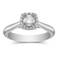 14K_Round_Diamond_Engagement_Ring_With_Diamond_Halo,_0.42cttw