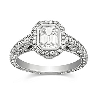 Platinum_Emerald_Cut_Diamond_and_Round_Diamond_Ring,_2.00cttw