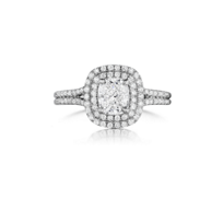 Henri_Daussi_Platinum_Cushion_and_Double_Halo_Ring,_2.73cttw