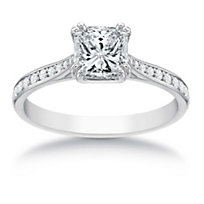 18K Signature Diamond Ring