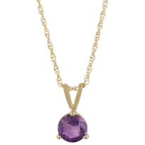 14K_Yellow_Gold_Round_Faceted_Amethyst_Solitaire_Pendant,_5mm
